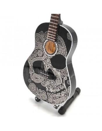 Sugar Skull miniatuur gitaar