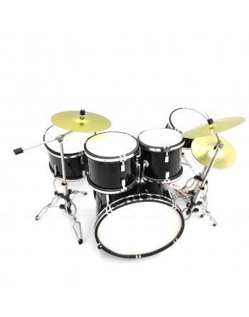 Zwart drumstel