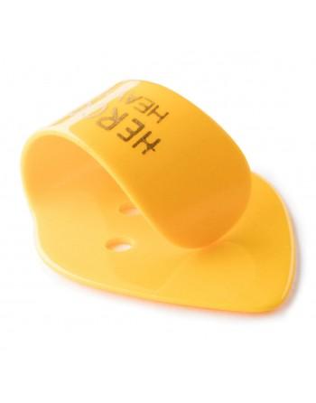 Herco duimplectrum heavy geel