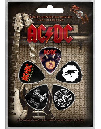 AC/DC Plectrum Let There Be...