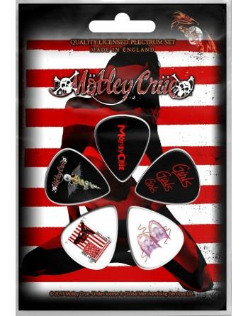 Mötley Crüe Plectrum Red...