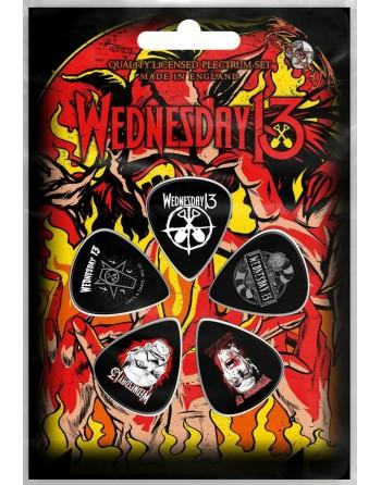 Wednesday 13 Plectrum Logo...