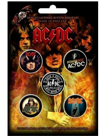 AC/DC button Highway To...