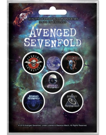 Avenged Sevenfold button...