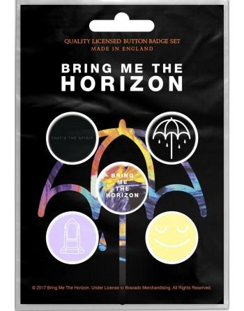Bring Me the Horizon button...