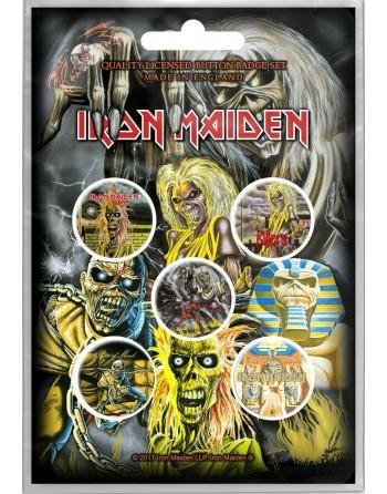 Iron Maiden button Early...