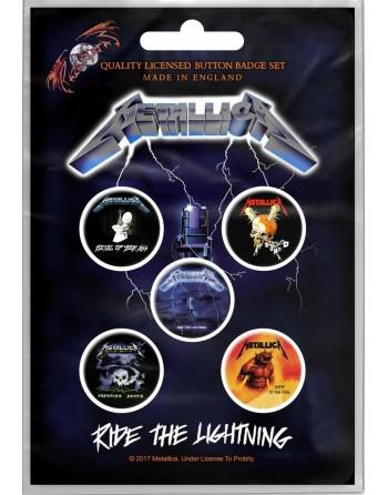 Metallica button Ride the...