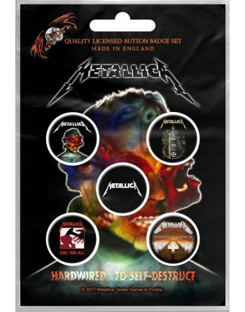 Metallica button Hardwired...