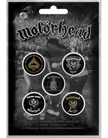 Motörhead button Clean Your...