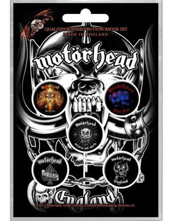 Motörhead button England...