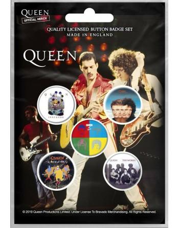 Queen button Later Albums...