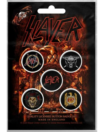 Slayer button Eagle 5-pack