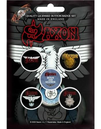 Saxon button Wheels Of...