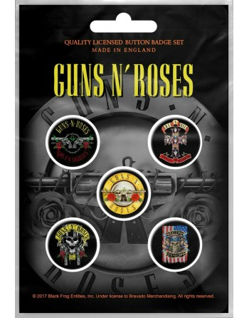 Guns N' Roses button Bullet...
