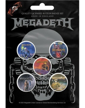 Megadeth button VIC...