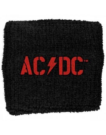 AC/DC wristband zweetbandje