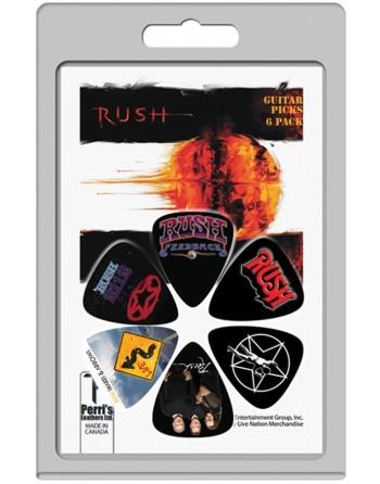 Rush 6-pack Medium plectrum...