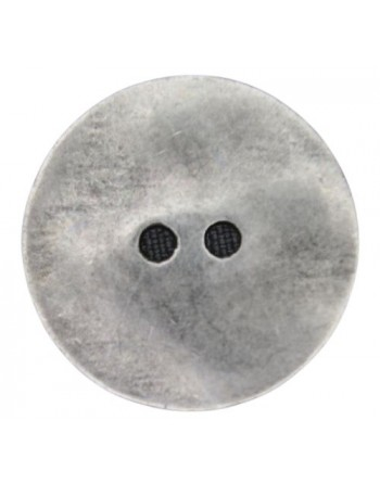 Zilveren knoop plat 1.90 mm