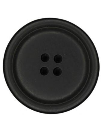 Mantel knoop zwart 5.90 mm