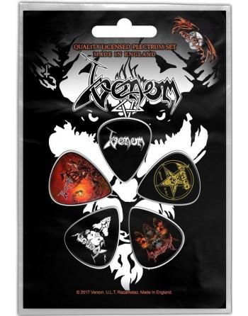 Venom Plectrum Black Metal...