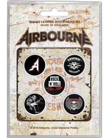Airbourne Button Boneshaker...