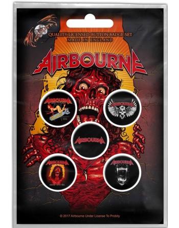 Airbourne Button Breakin'...