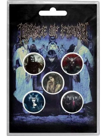 Cradle of Filth Button...