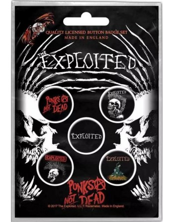 The Exploited Button Punks...