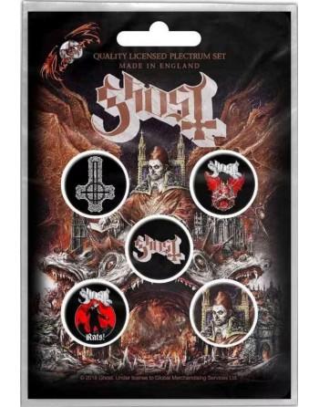 Ghost Button Prequelle 5-pack
