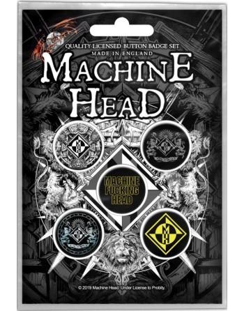 Machine Head Button Crest...