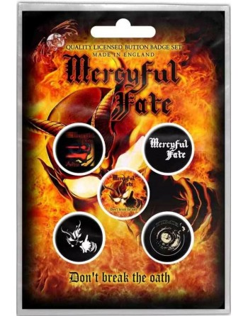 Mercyful Fate Button Don't...