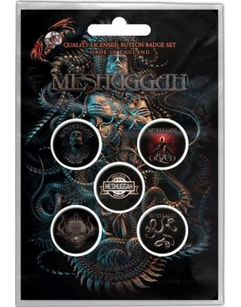 Meshuggah Button Violent...