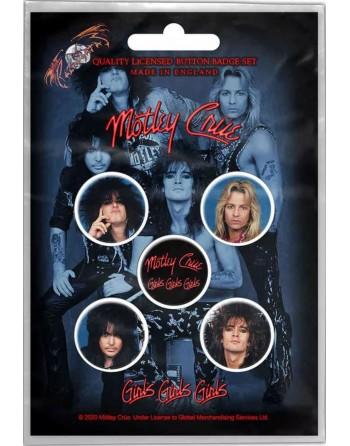 Mötley Crüe Button Girls,...