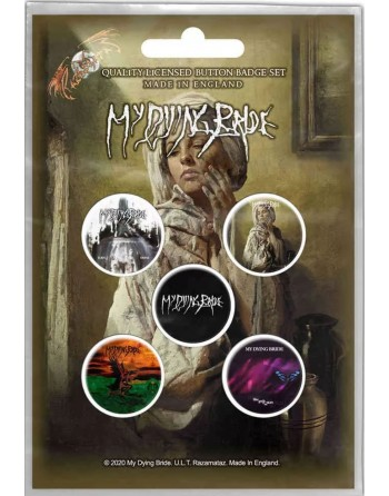 My Dying Bride Button The...