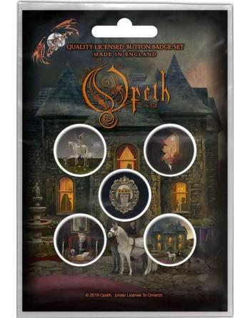Opeth Button In Caude...