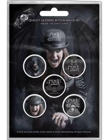 Ozzy Osbourne Button...