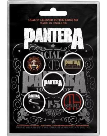 Pantera Button 101 Proof...
