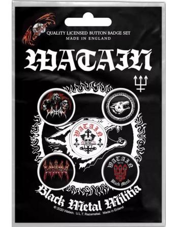 Watain Button Black Metal...