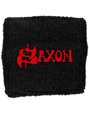 Saxon wristband zweetbandje