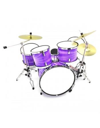 Lila drumstel