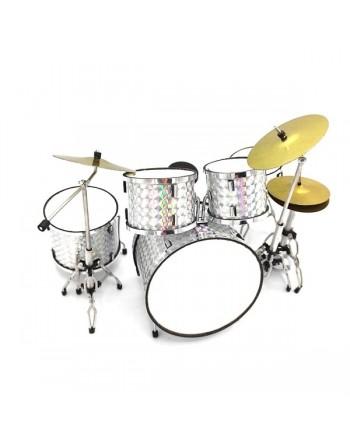 Zilver drumstel