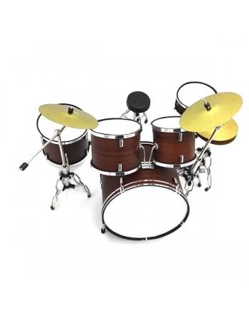 Donker bruin drumstel