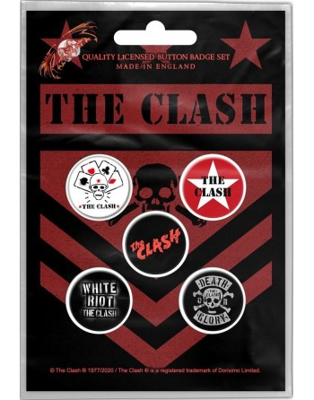The Clash Button London...