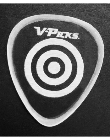 V-Picks Bullseye Ghost Rim...