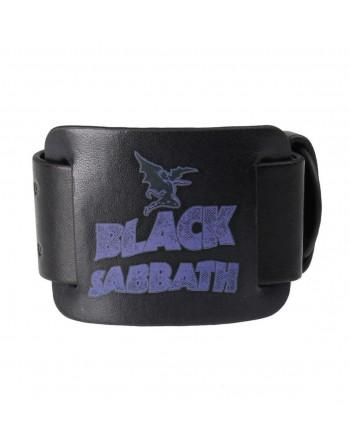 Black Sabbath Leren Polsband
