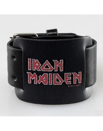 Iron Maiden Logo Leren...