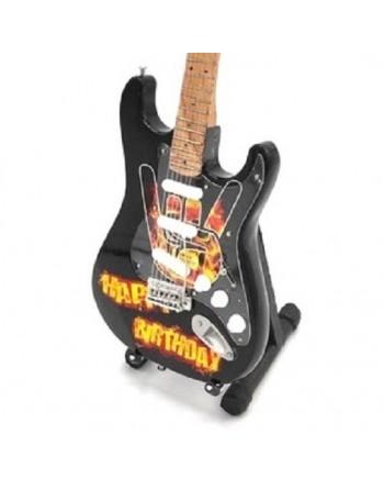 Miniatuur gitaar Happy...