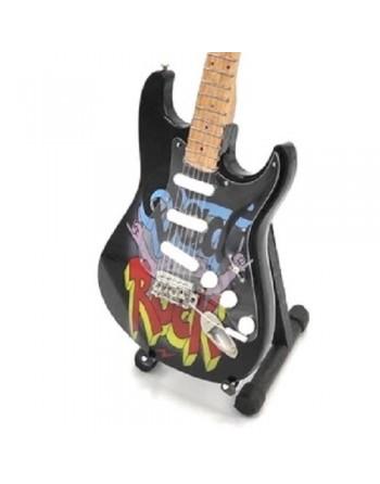Miniatuur gitaar Dad You Rock