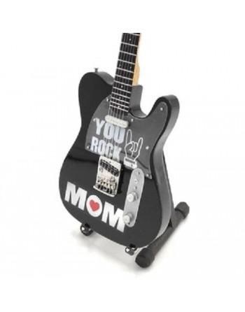 Miniatuur gitaar You Rock Mom