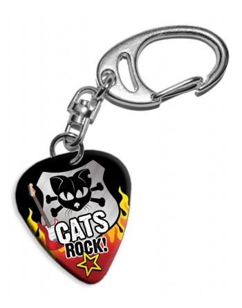Plectrum sleutelhanger Cats...